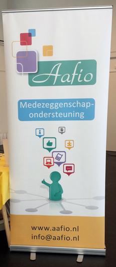 rollup banner ontwerp aafio zoetermeer