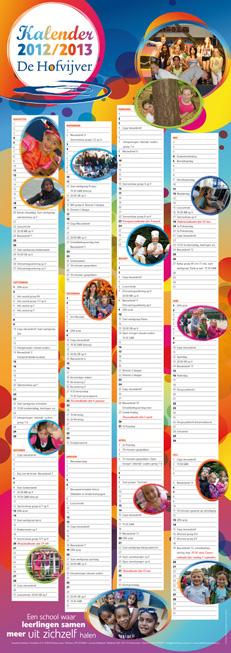 schoolkalender basisschool