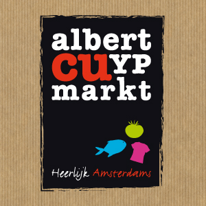 Logo en communicatie voor de Albert Cuypmarkt in Amsterdam