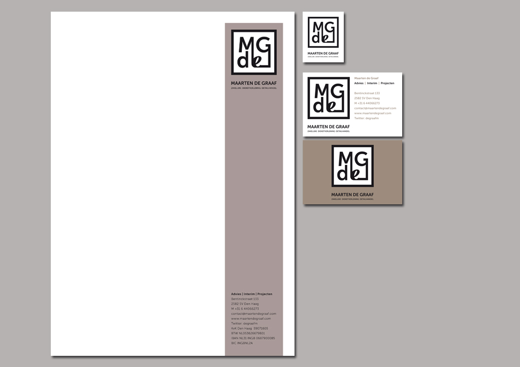 ontwerp logo, briefpapier, visitekaartje, logo