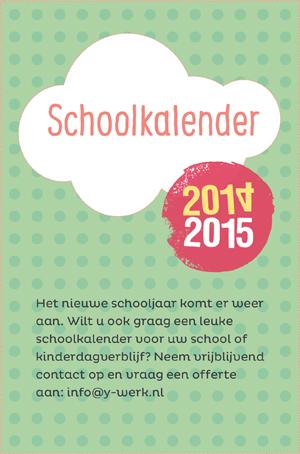 schoolkalender basisschool offerte contact
