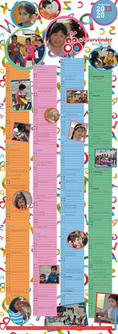 Schoolkalender Totaalschool De Vuurvlinder